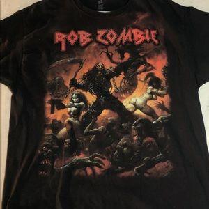 Rob Zombie 2013 Tour Band T shirt Size XL